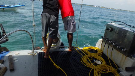 moon walker: Sea Walker at Tanjung Benoa Bali