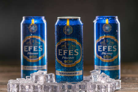 Efes is the number one selling lager in Turkey