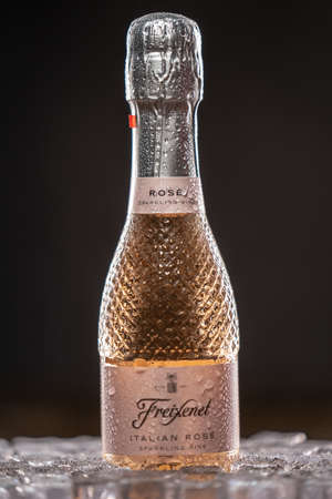 Freixenet Italian Rose is a delicate blend of Glera and Pinot Noir grapes. UK, England, Desember 28, 2020