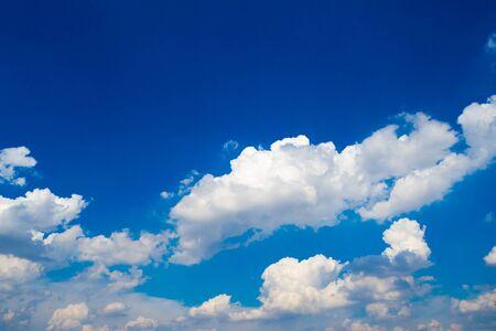 fluffy: Fluffy Cloud with Blue Sky