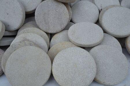 circle shape: Stone Spa, Circle Shape