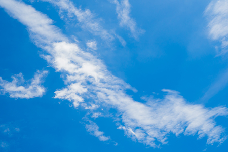 softly: Abstract soft cloud with blue sky Stock Photo