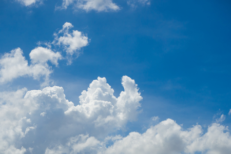 softly: Abstract Softly Cloud with Blue Sky, Asia Thailand