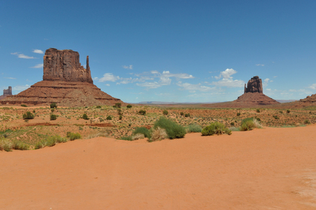 stratified: The Mittens in the Monument Valley
