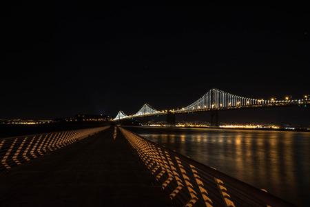 ing: Bay Bridge by night