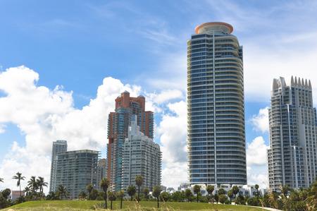 habitable: Skyscrapers of Miami Beach, Florida