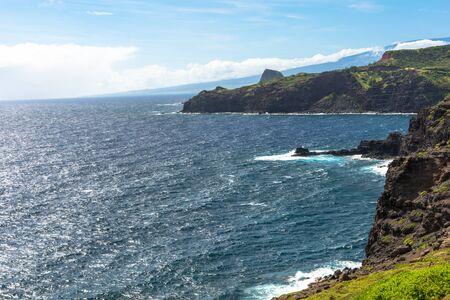 maui: The Maui coast, Hawaii Stock Photo