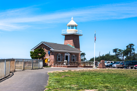 abbott: Santa Cruz Lighthouse, California