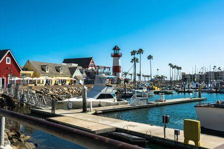 oceanside: Oceanside harbor, California Editorial