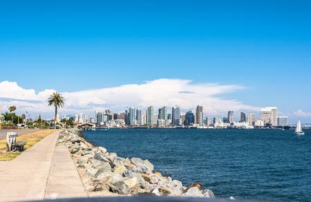 boat house: San Diego Skyline, California