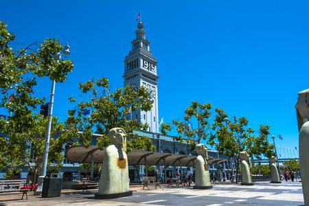 herman: Sculptures in San Francisco Stock Photo
