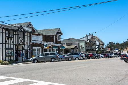 main street: Main street in Cambria, California