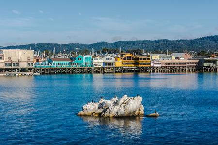 monterey: Monterey pier, California Stock Photo