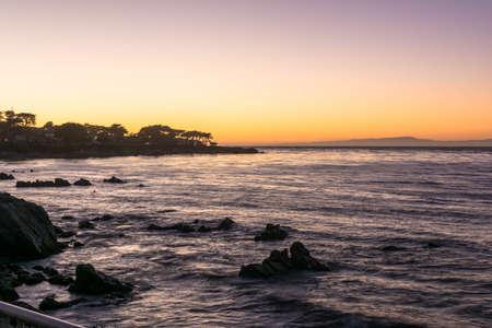 monterey: Sunset on Monterey Bay, California