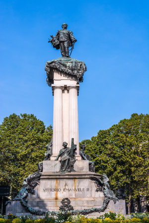 vittorio: The monument of Vittorio Emanuele II in Turin, Italy