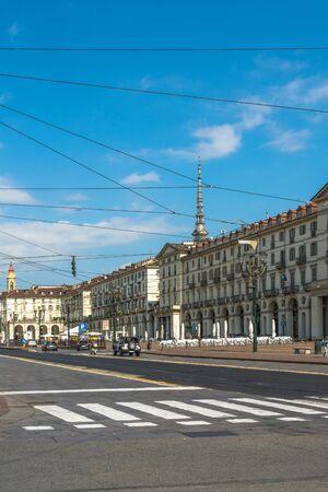 piazza: Piazza Vittorio in Turin, Italy
