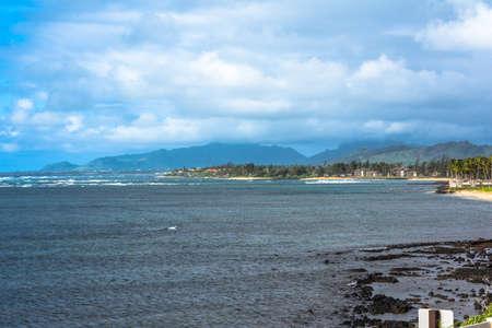kauai: The coast along Wailua, Kauai, Hawaii