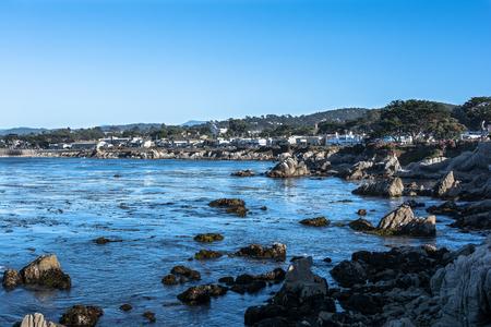 monterey: Pacific Grove coast, Monterey, California