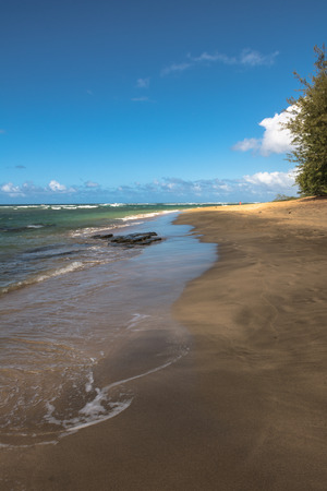 kauai: Kee beach in Kauai, Hawaii
