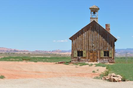 moab: Old church close to Moab, Utah