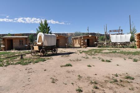 bluff: Bluff Fort in Utah Editorial