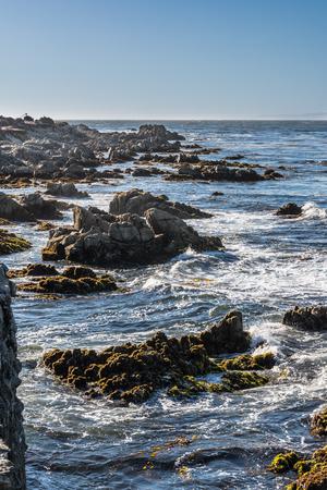 monterey: Monterey coast, California Stock Photo