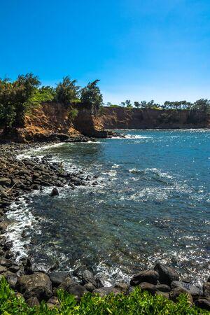 big island: The coast along Big Island, Hawaii