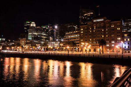 San Francisco nocą, Kalifornia