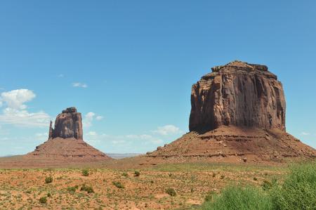 stratified: Monument Valley, Arizona Stock Photo