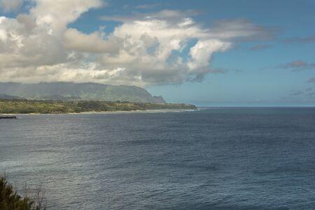 kauai: Kilauea Bay coast, Kauai, Hawaii
