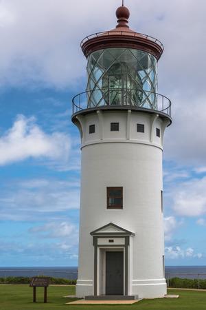 kauai: Kilauea Lighthouse, Kauai, Hawaii Stock Photo