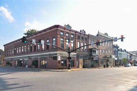 jackson: View of Jackson Street at Clay Street in Millersburg
