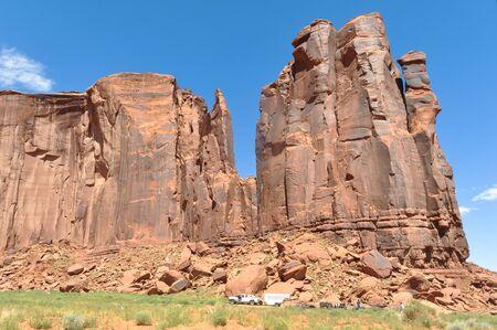 stratified: Monument Valley, Utah, Arizona