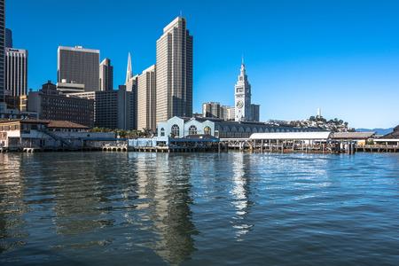 coit tower: San Francisco waterfront, California