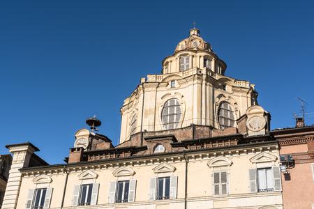 lorenzo: San Lorenzo Church in Turin, Italy