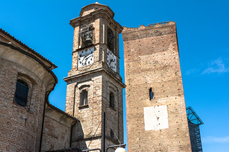 sighting: Old towers in Barbaresco, Italy