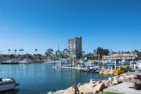 oceanside: Marina at Oceanside, California Editorial