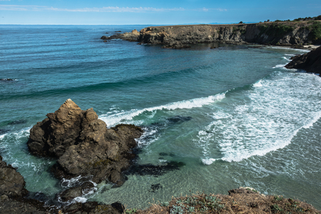 fort: Fort Bragg coast, California