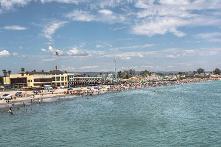 santa cruz: Santa Cruz Beach, California Stock Photo