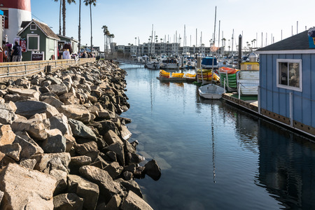 oceanside: Harbor at Oceanside, California Editorial