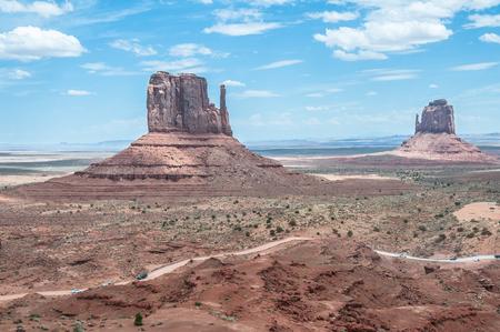 iron oxide: Monument Valley, Arizona, Utah Stock Photo