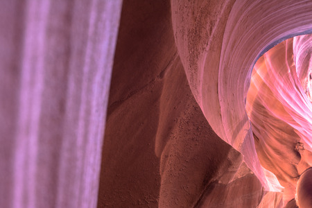 slot canyons: Upper Antelope Canyon, Arizona