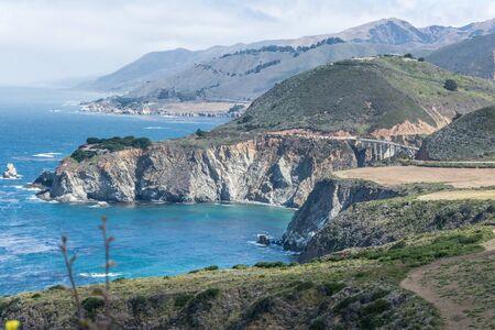 sur: Big Sur coast, California Stock Photo