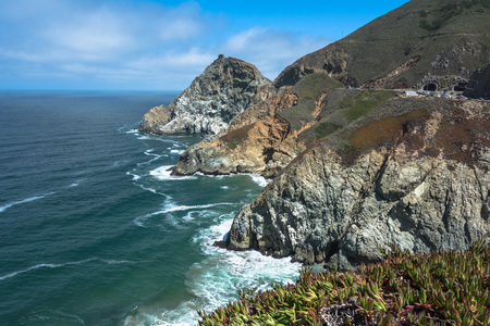 shorelines: Devil Slide coast, California