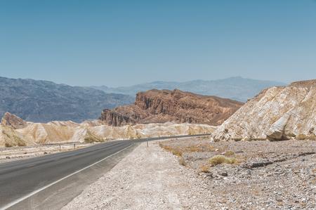 badland: Death Valley National Park, California