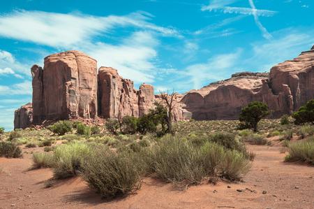 iron oxide: Spearhead Mesa in Monument Valley, Arizona
