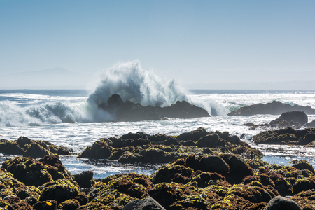 Waves in Monterey, California Stock Photo