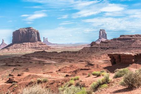 iron oxide: Monument Valley, Arizona Stock Photo
