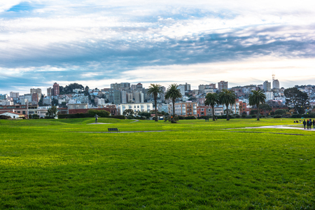 View of San Francisco from Fort Mason