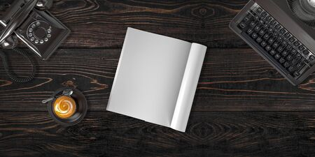 header image: Hero header image on web site. Easy place your design on this blank surface. Stock Photo